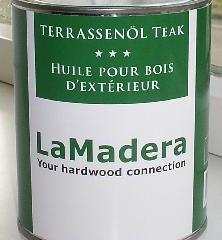 LaMadera Terrassenöl Teak
