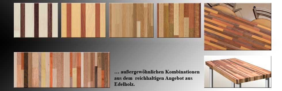 Design Vollholzplatten
