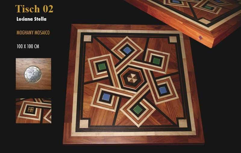 Mastro Vitruvio - Tisch 02 - Luciana Stella